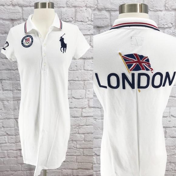 Ralph Lauren Dresses   Olympic Polo Dress Big Pony London   Poshmark 1a4de3f6233d